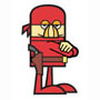le larron rouge -