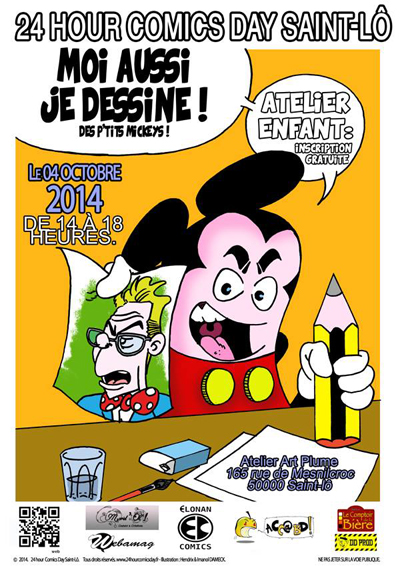 24HCD 2014 - Atelier enfants