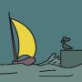 Loin de la côte -